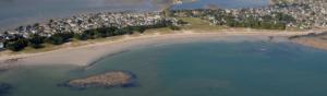 Bras de mer village risque de submersion aménagement et urbanisme en zone maritime