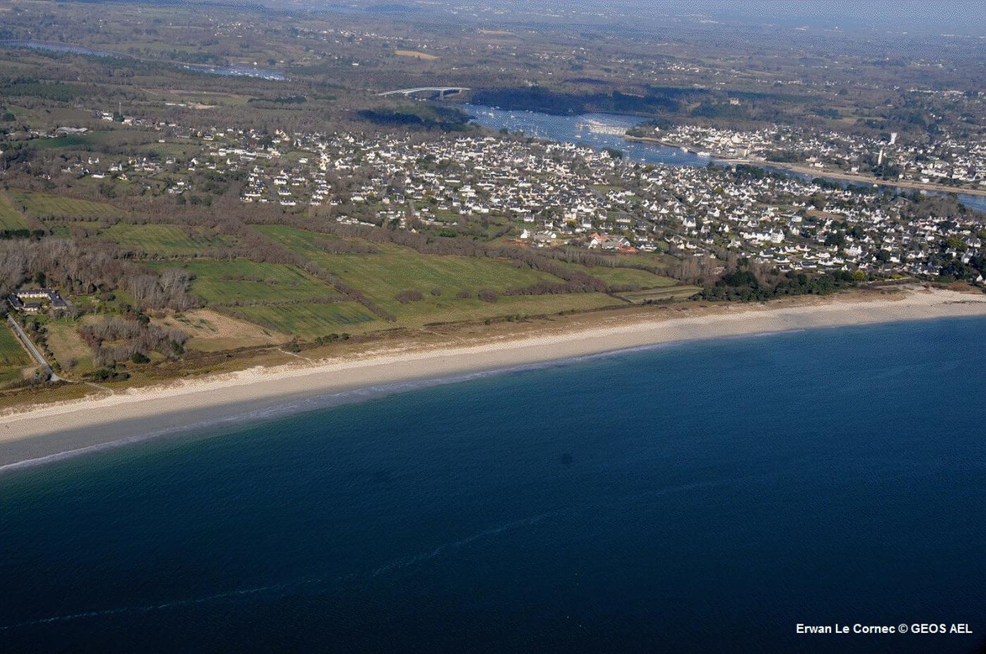 combrit-ile-tudy-territoire-plat-niveau-mer-risques-cotiers