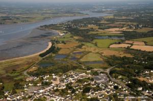 penestin-inondation-champs-submersion marine-erosion-risques-cotiers