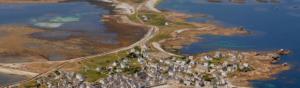 risques de submersion marine et enjeux humains à cause de la proximité entre les habitations et le littoral en Bretagne
