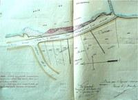 plan de carnac et du chemin vicinal