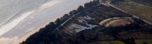 photographie aérienne littoral breton