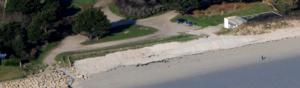 photographie plage et sentier en bord de mer